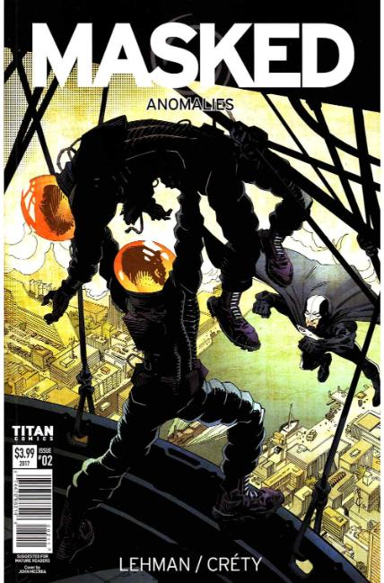 Masked #2 Cover A [Titan Comic] LARGE