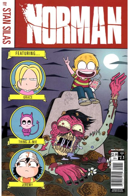 Norman the First Slash #1 Cover A [Titan Comic] THUMBNAIL