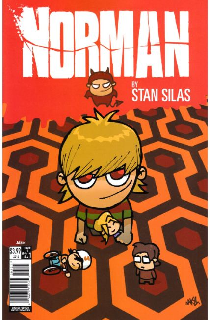 Norman the First Slash #1 Cover B [Titan Comic] THUMBNAIL