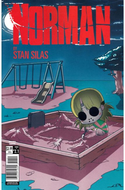 Norman the First Slash #1 Cover E [Titan Comic] THUMBNAIL