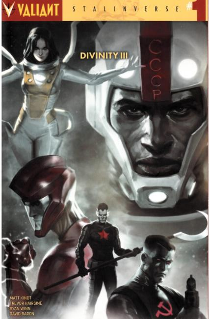 Divinity III Stalinverse #1 Cover A [Valiant Comic] THUMBNAIL