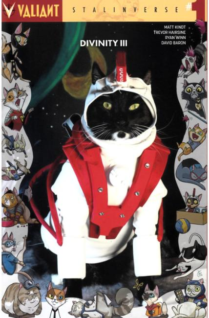 Divinity III Stalinverse #1 Cover D- Cat Cosplay [Valiant Comic] LARGE