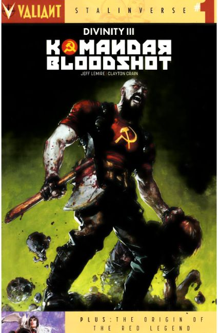 Divinity III Komandar Bloodshot (One Shot) Cover A [Valiant Comic] LARGE