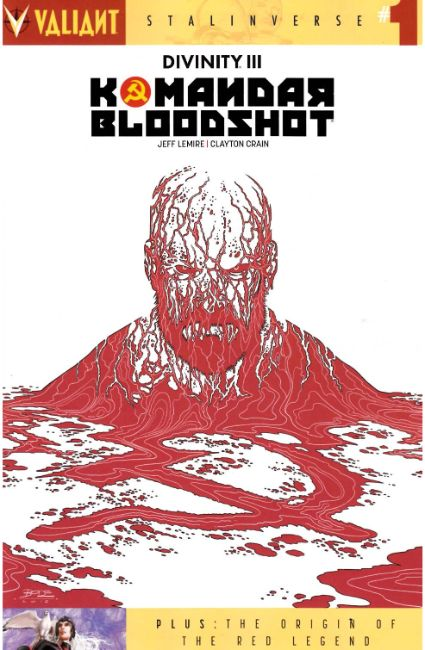 Divinity III Komandar Bloodshot (One Shot) Cover B [Valiant Comic] LARGE