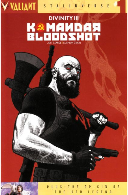 Divinity III Komandar Bloodshot (One Shot) Cover C [Valiant Comic] THUMBNAIL