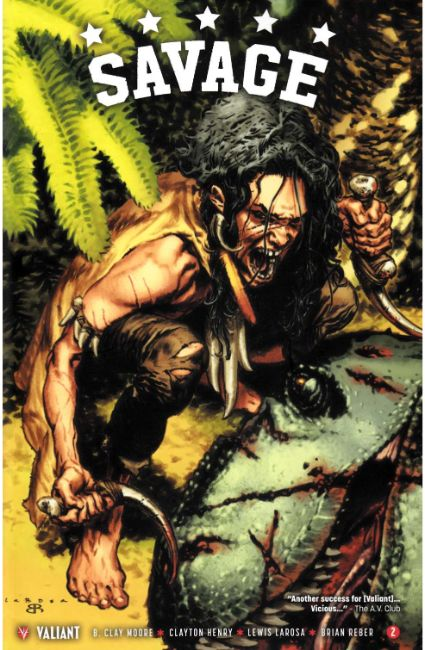 Savage #2 Cover A [Valiant Comic]_THUMBNAIL