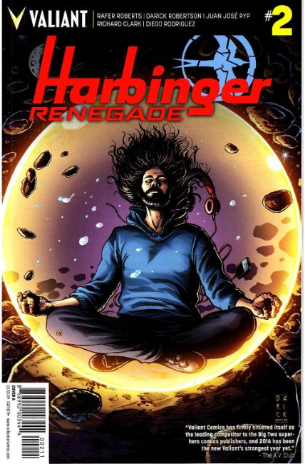 Harbinger Renegade #2 Cover A [Valiant Comic]