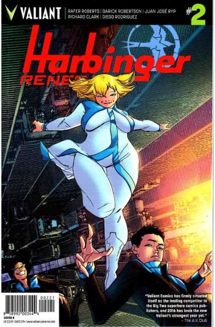 Harbinger Renegade #2 Cover B [Valiant Comic] THUMBNAIL