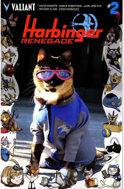 Harbinger Renegade #2 Cover D- Cat Cosplay [Valiant Comic] THUMBNAIL