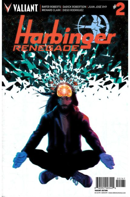Harbinger Renegade #2 Cover F- Kano Variant [Valiant Comic] THUMBNAIL