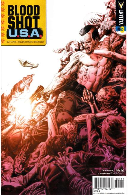 Bloodshot USA #3 Cover A [Valiant Comic] THUMBNAIL