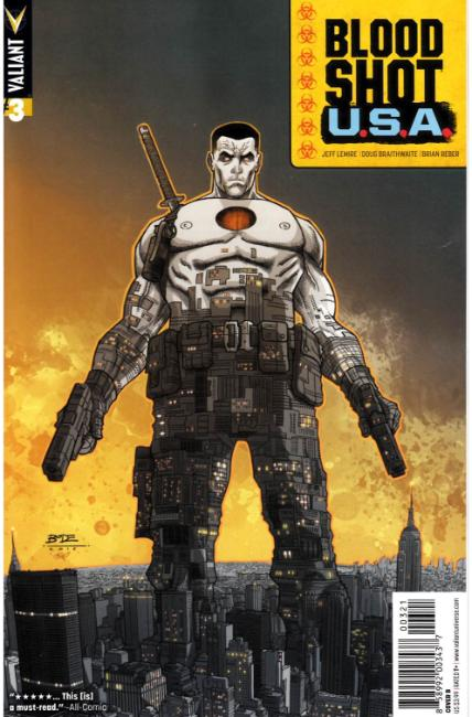Bloodshot USA #3 Cover B [Valiant Comic] THUMBNAIL