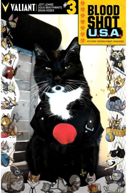 Bloodshot USA #3 Cover D- Cat Cosplay [Valiant Comic] THUMBNAIL