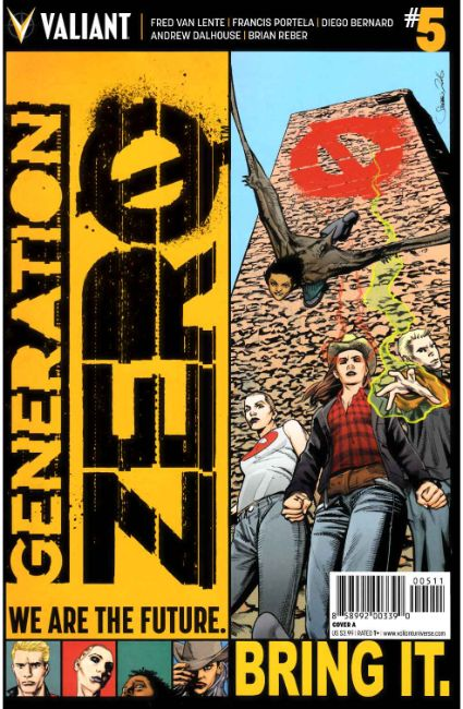 Generation Zero #5 Cover A [Valiant Comic] THUMBNAIL