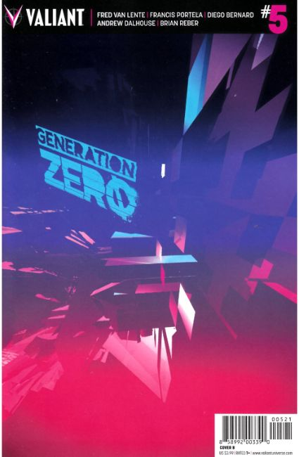 Generation Zero #5 Cover B [Valiant Comic] THUMBNAIL