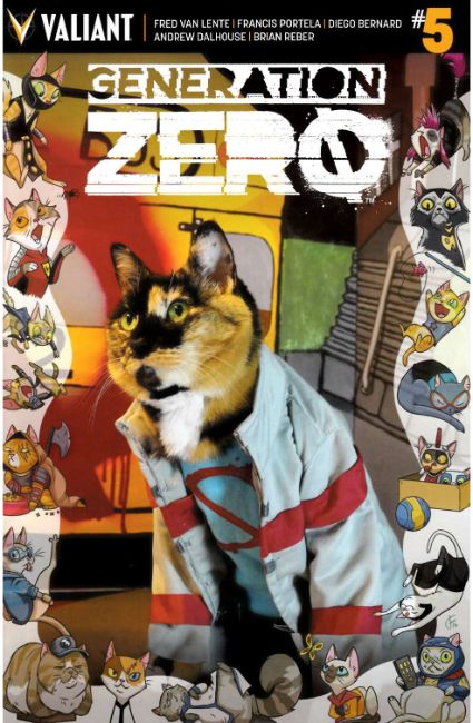 Generation Zero #5 Cover C [Valiant Comic] THUMBNAIL