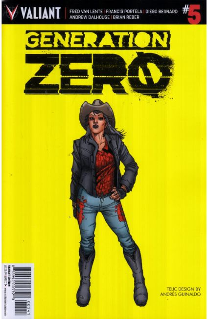 Generation Zero #5 Cover D- Guinaldo Incentive [Valiant Comic] THUMBNAIL