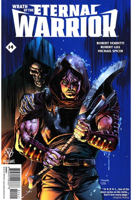 Wrath of the Eternal Warrior #14 Cover A [Valiant Comic] LARGE