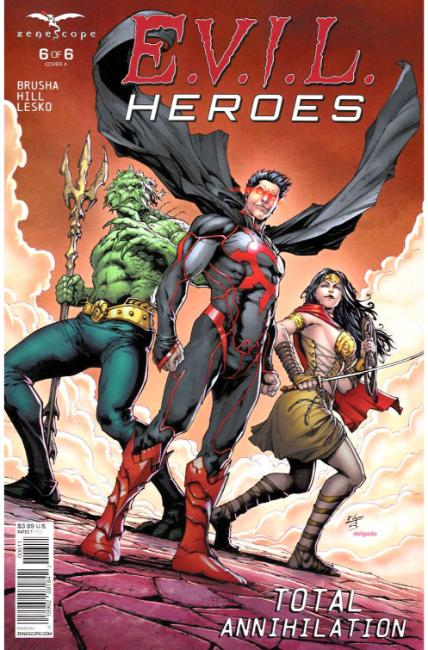 Evil Heroes #6 Cover A [Zenescope Comic] THUMBNAIL
