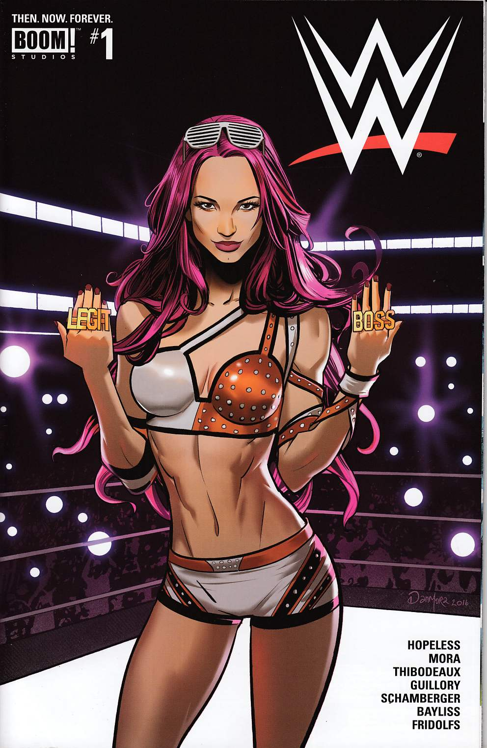 WWE Then Now Forever #1 Cover H- Second Printing [Boom Comic] THUMBNAIL