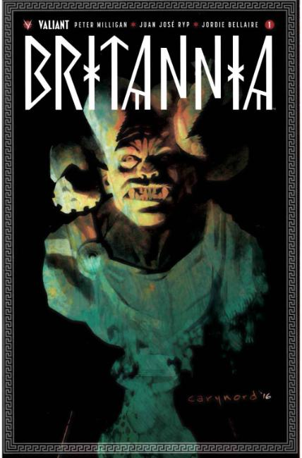 Britannia #1 Fourth Printing [Valiant Comic] LARGE