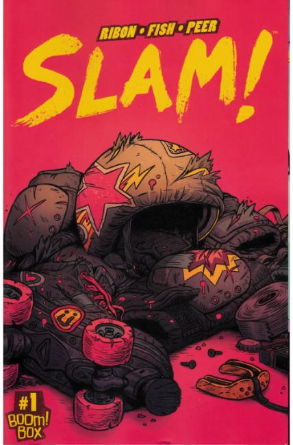 Slam #1 Second Printing [Boom Comic] THUMBNAIL