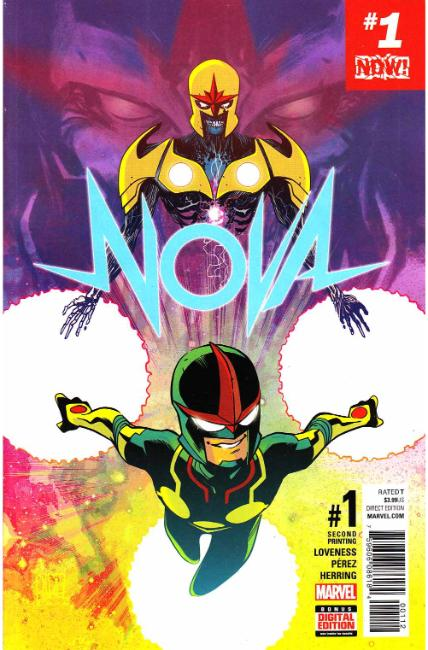 Nova #1 Second Printing [Marvel Comic] THUMBNAIL