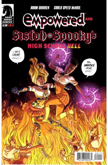 Empowered & Sistah Spooky`s High School Hell #1 [Dark Horse Comic] THUMBNAIL