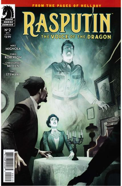 Rasputin Voice of Dragon #2 [Dark Horse Comic] THUMBNAIL
