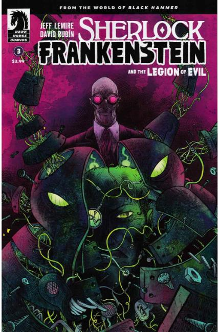 Sherlock Frankenstein & Legion of Evil #3 [Dark Horse Comic] THUMBNAIL