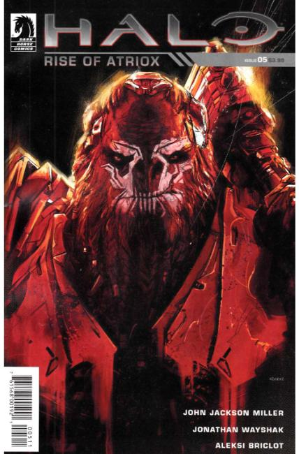 Halo Rise of Atriox #5 [Dark Horse Comic] LARGE