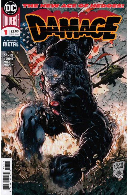 Damage #1 [DC Comic]