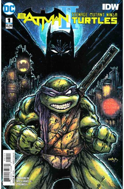 Batman Teenage Mutant Ninja Turtles II #1 Eastman Variant Cover [DC Comic]_THUMBNAIL