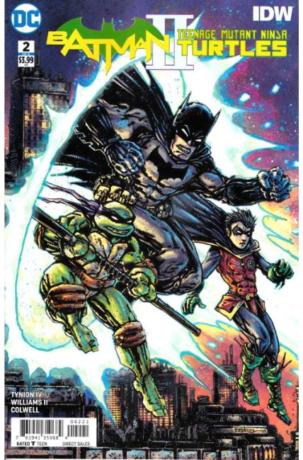 Batman Teenage Mutant Ninja Turtles II #2 Eastman Variant Cover [DC Comic]_THUMBNAIL