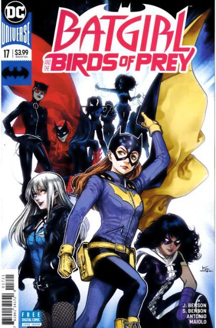 Batgirl And The Birds Of Prey 17 Shirahama Variant Cover Dc Comic Dreamlandcomics Com Online Store