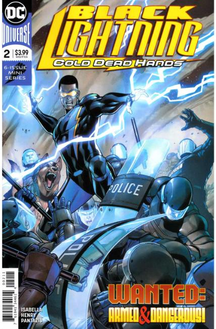 Black Lightning Cold Dead Hands #2 [DC Comic] THUMBNAIL