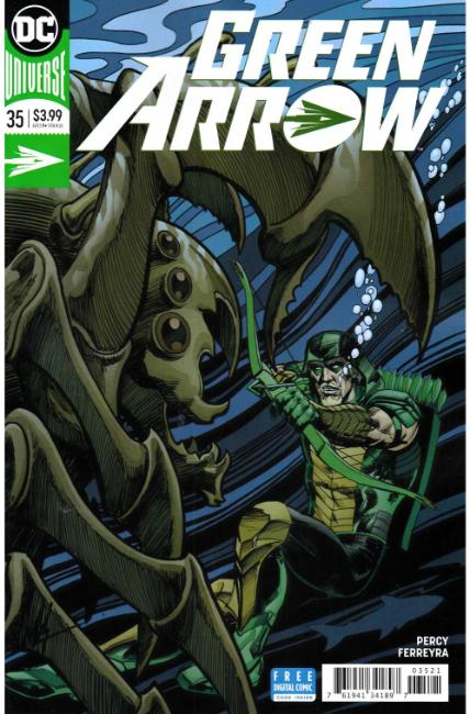 Green Arrow #35 Grell Variant Cover [DC Comic] THUMBNAIL