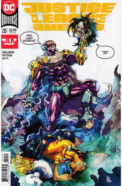 Justice League of America #20 [DC Comic] THUMBNAIL