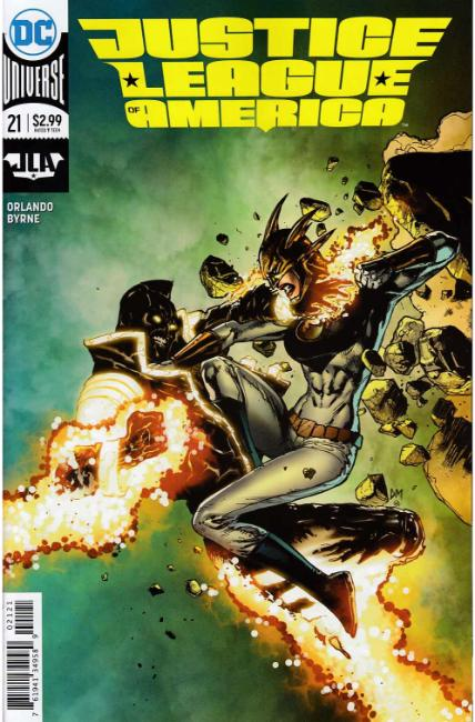 Justice League of America #21 Mahnke Variant Cover [DC Comic] THUMBNAIL