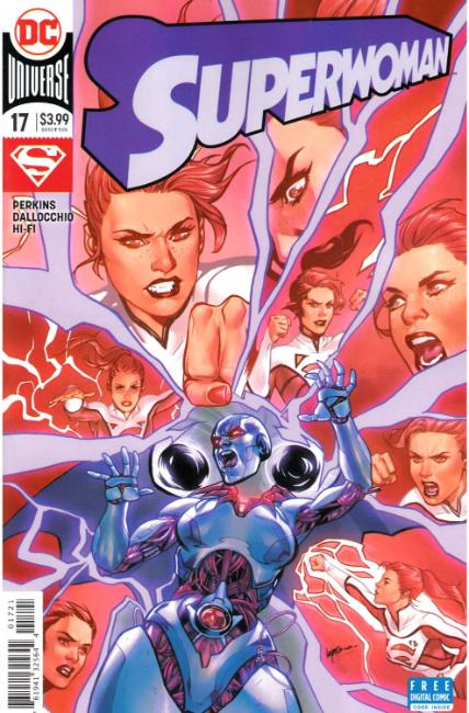 Superwoman #17 Lupacchino Variant Cover [DC Comic] THUMBNAIL