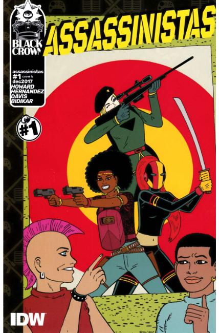 Assassinistas #1 Cover A [IDW Comic] THUMBNAIL