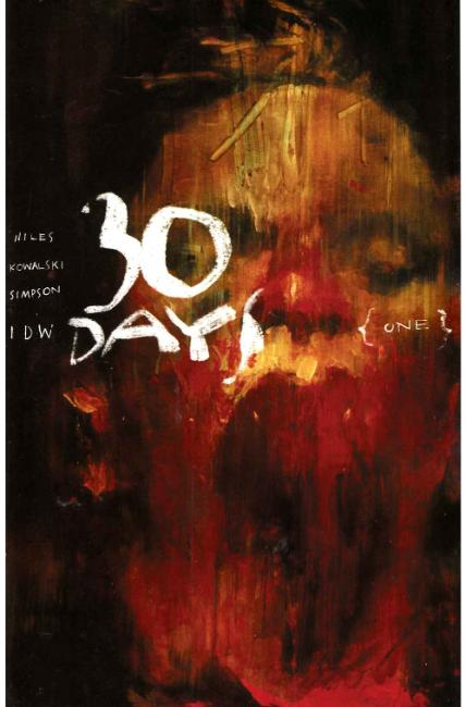 30 Days of Night #1 Cover RIA [IDW Comic] THUMBNAIL