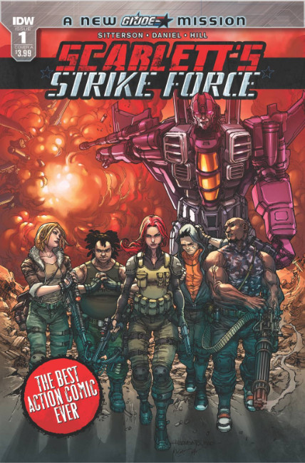 Scarletts Strike Force #1 Cover A [IDW Comic] THUMBNAIL