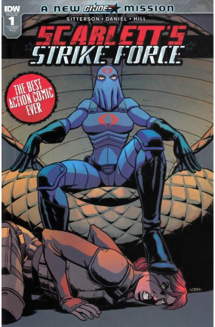 Scarletts Strike Force #1 Cover RIA [IDW Comic] THUMBNAIL