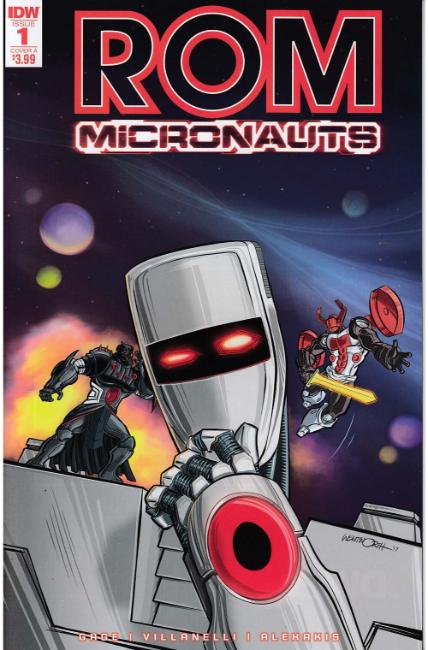 Rom & the Micronauts #1 Cover A [IDW Comic]