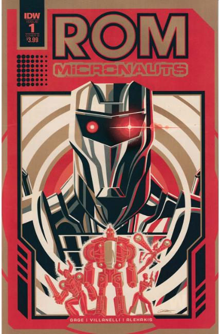 Rom & the Micronauts #1 Cover B [IDW Comic]