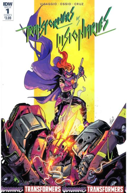 Transformers vs Visionaries #1 Cover A [IDW Comic] THUMBNAIL