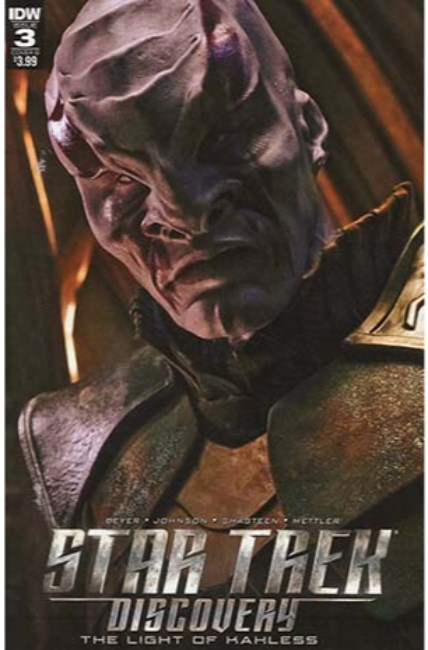 Star Trek Discovery #3 Cover B [IDW Comic] THUMBNAIL
