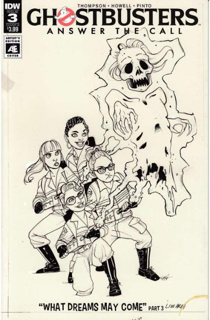 Ghostbusters Answer the Call #3 Cover B [IDW Comic] THUMBNAIL
