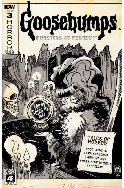Goosebumps Monsters At Midnight #3 Cover B [IDW Comic] THUMBNAIL